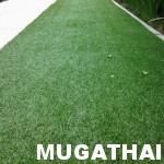 จัดสวนโดยใช้หญ้าเทียม