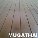 พื้นไม้ระแนงไม้เทียม